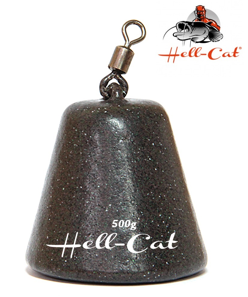 Hell-Cat - Olovo peletové pyramida 500g - 1ks