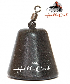 Hell-Cat - Olovo peletové pyramida 700g - 1ks