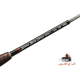 Hell-Cat - Prut Kronos BLACK-EDITION 2,4m    400-600g